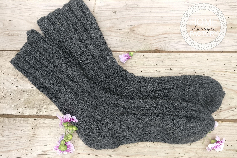Christmas socks/Wool socks for him/Men wool socks/Hand