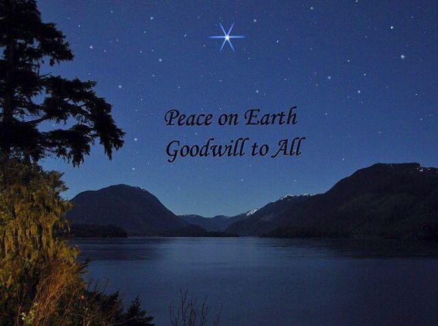Peace On Earth Christmas Christmas star peace on | Merry Cmas ...
