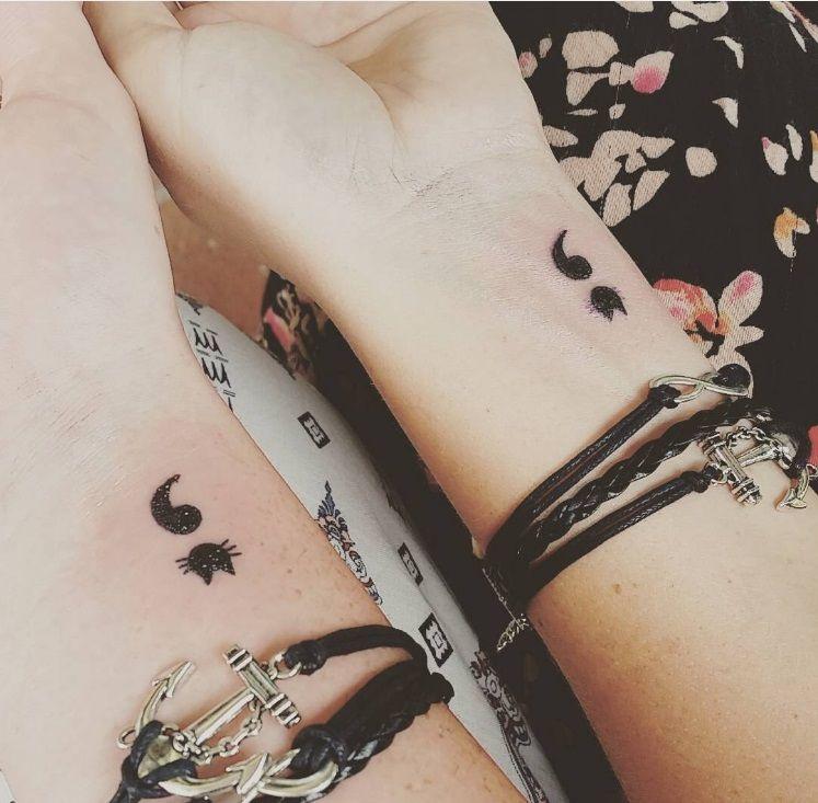 19 petits tatouages faire avec votre meilleure amie 18 juuuuu pinterest. Black Bedroom Furniture Sets. Home Design Ideas