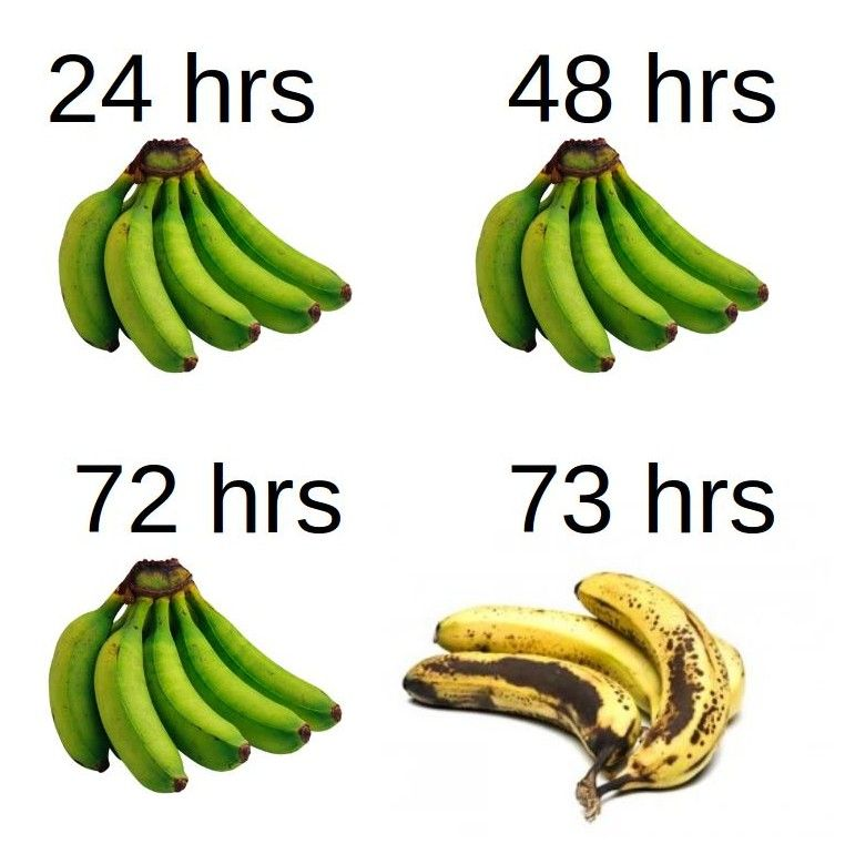 When buying bananas always remember...