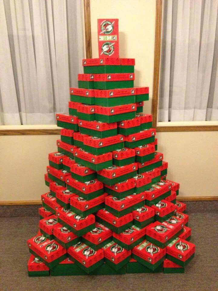 Box Trees Operation Christmas Child Boxes Operation Christmas Child Kids Christmas