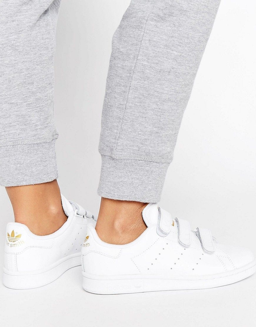 ADIDAS ORIGINALS ADIDAS ORIGINALS WHITE STAN SMITH SNEAKERS