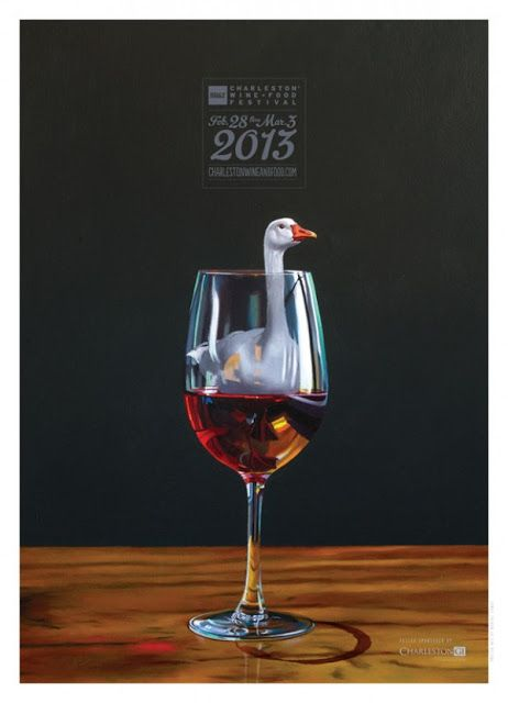 Charleston Food And Wine Festival Posters