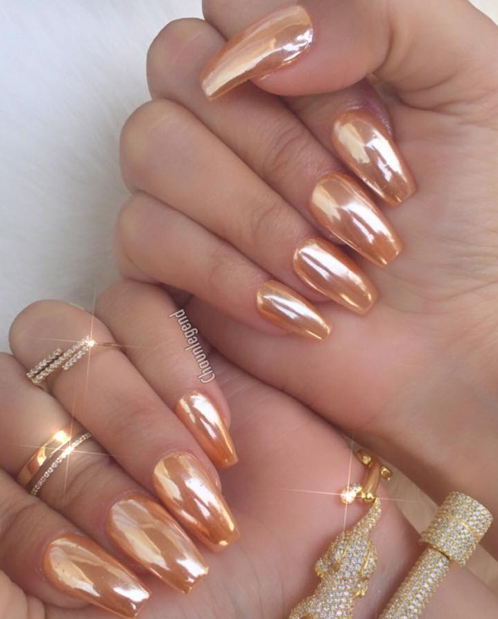 "surra-de-bunda: "" IG: chaunlegend (Polish color: Copper Chrome ..."