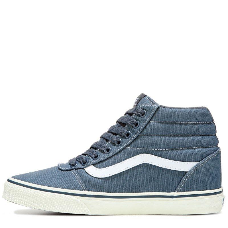 Vans Men s Ward High Top Skate Shoes (Dark Slate Marshmall)  158e51445