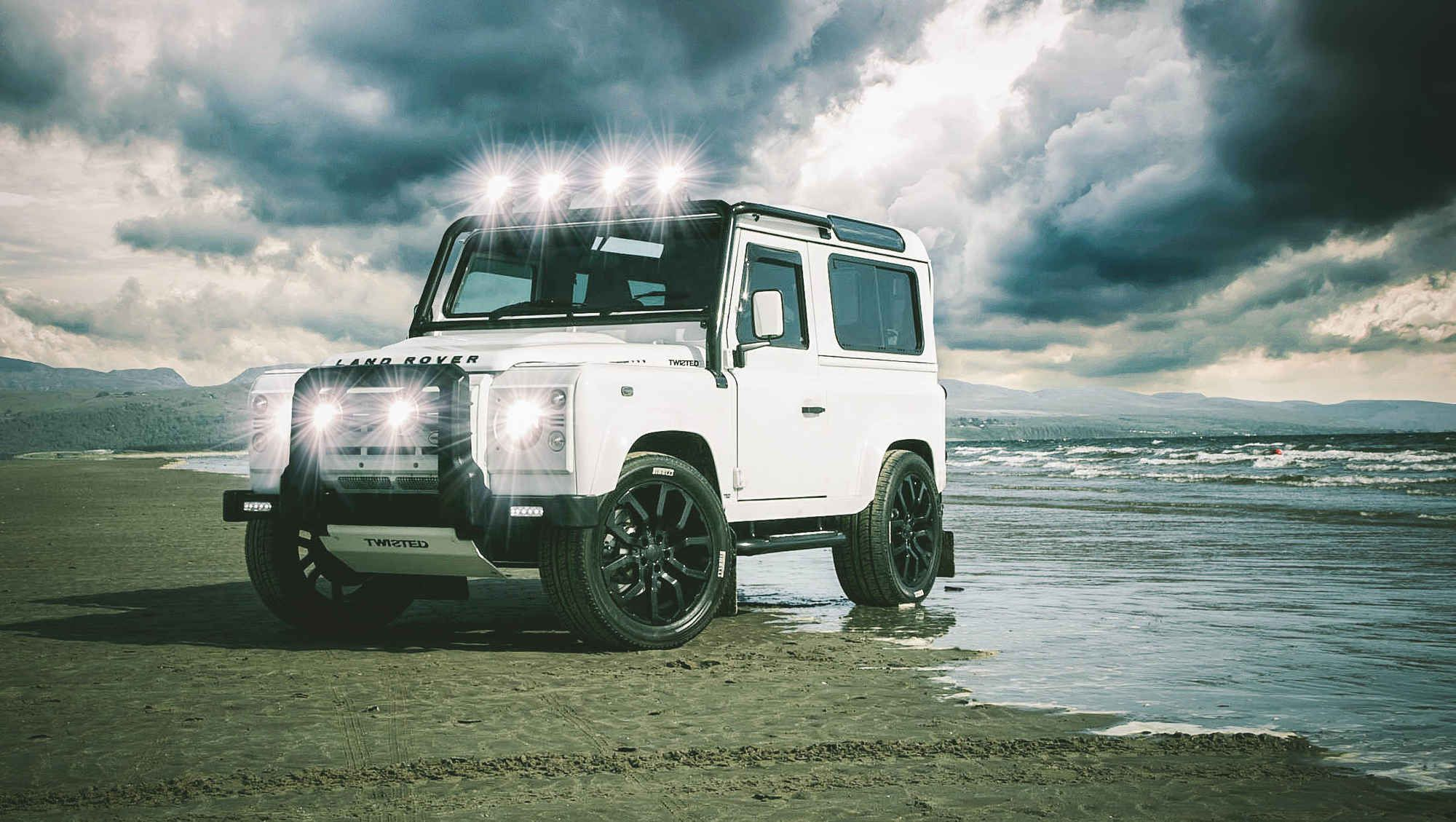 The Alpine Defender 90 From Twisted Performance Land Rover