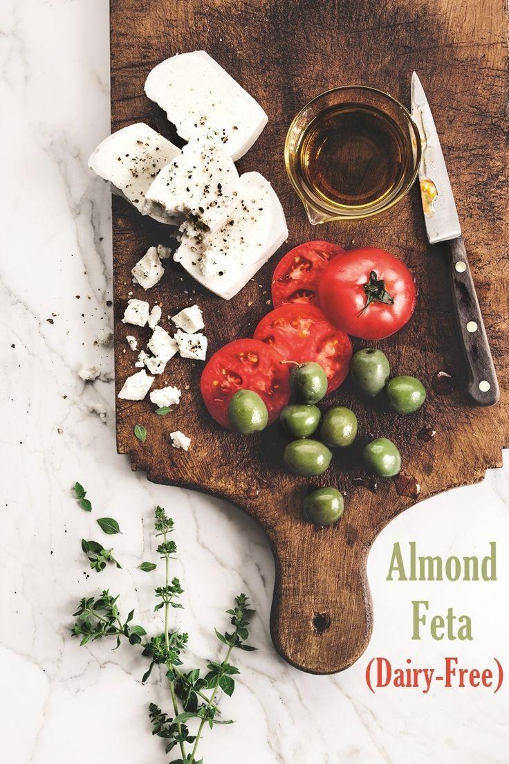 Dairy Free Almond Feta Cheese Recipe Feta Cheese Recipes