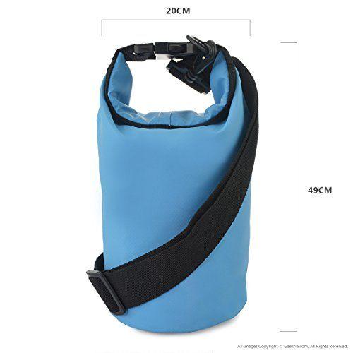 Waterproof Dry Sack Backpack Dry Bag with Shoulder Strap 10L for Boating  Beach Kayaking Fishing Rafting 7bcd3ba60c500