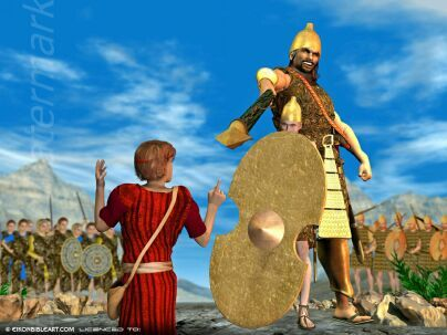 David and Goliath images | ... Powerpoint presentation depicting the story of David and Goliath