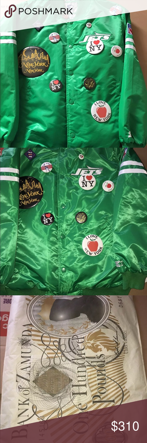 premium selection dc440 7a033 New York Jets starter jacket (limited edition) I'm selling a ...
