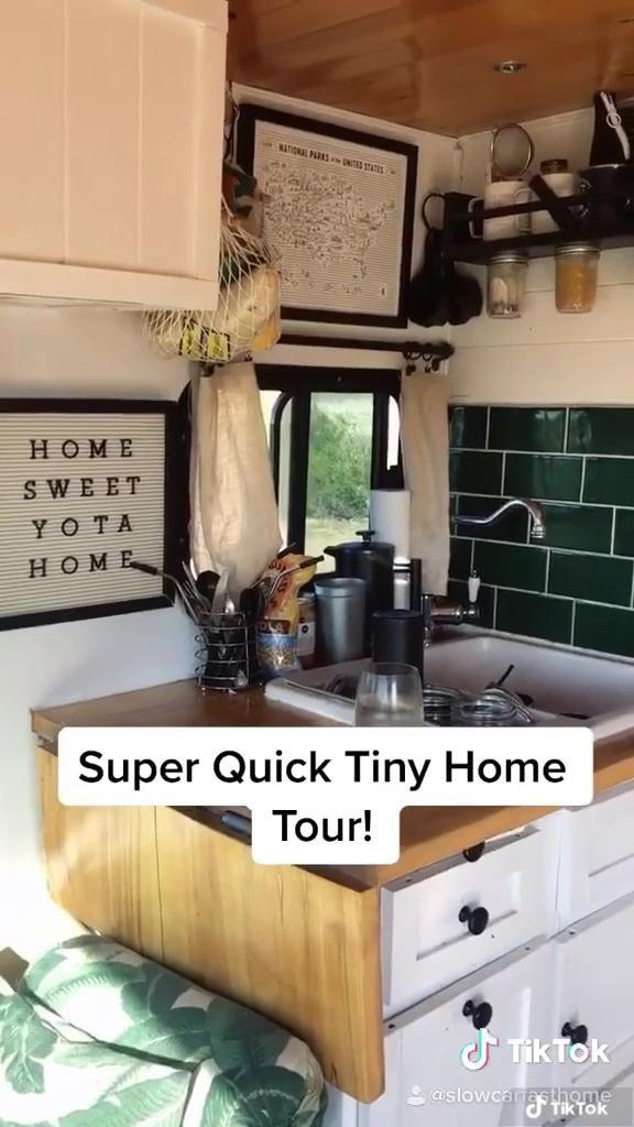 Photo of Super quick tiny home tour!