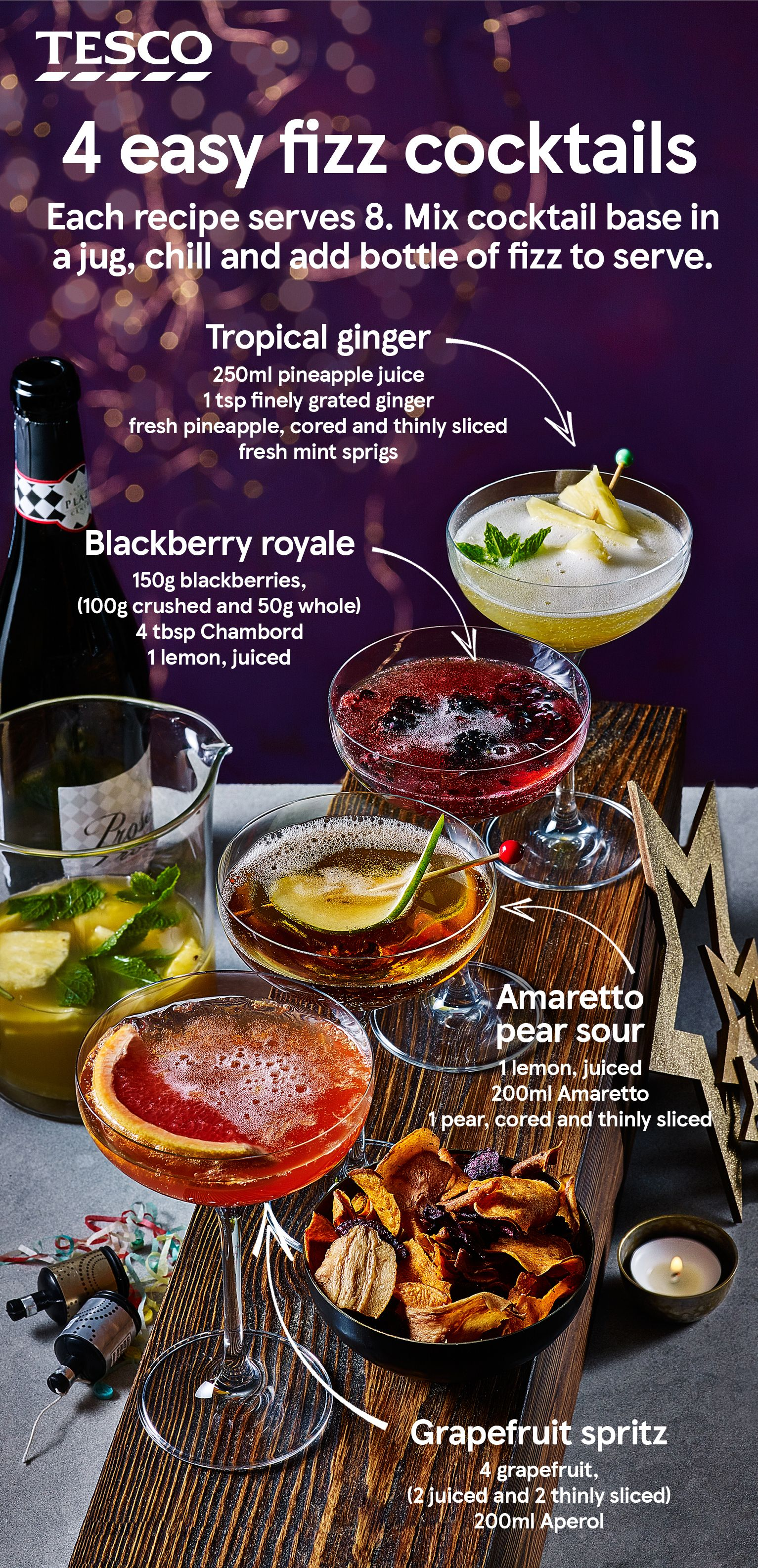 10 Best Christmas Cocktails Easy Cocktails Best Christmas