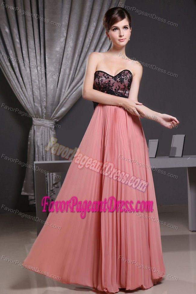 Dramatic Watermelon Sweetheart Interview Pageant Dress with Pleats ...