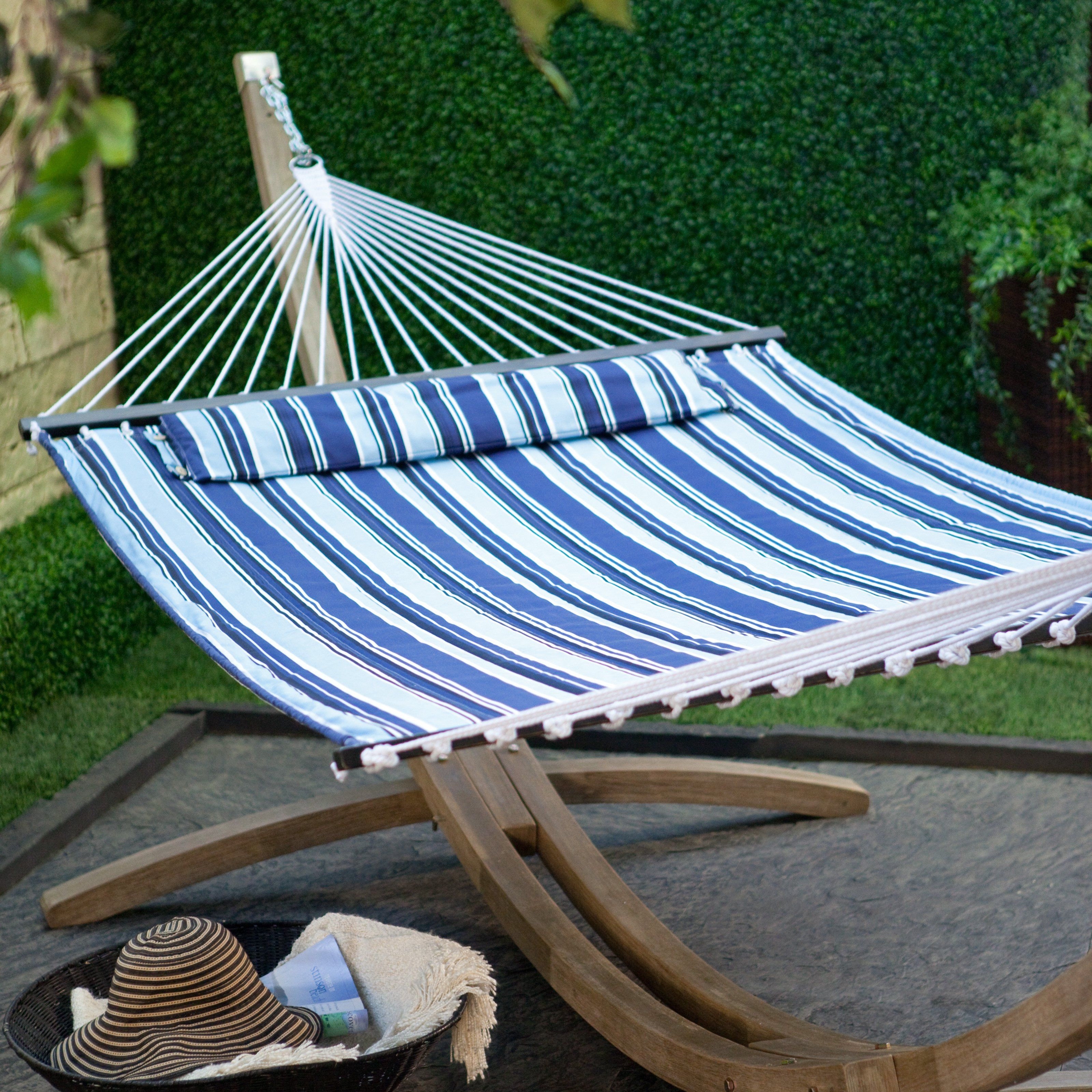 Island bay ft nautical quilted hammock drift away a summer