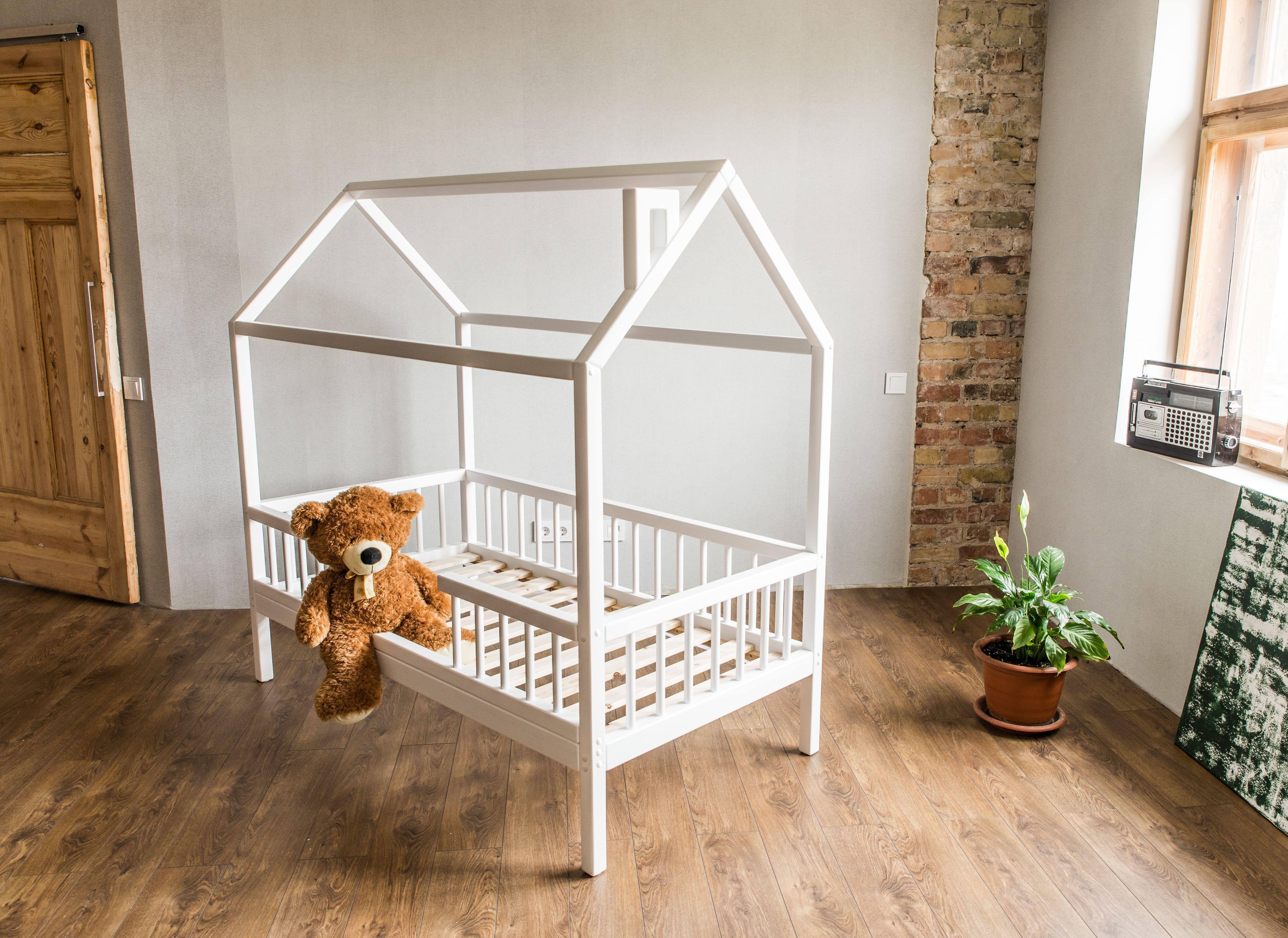 Custom Made Tree House Bed Treehouse Wooden Bed Natural Wood