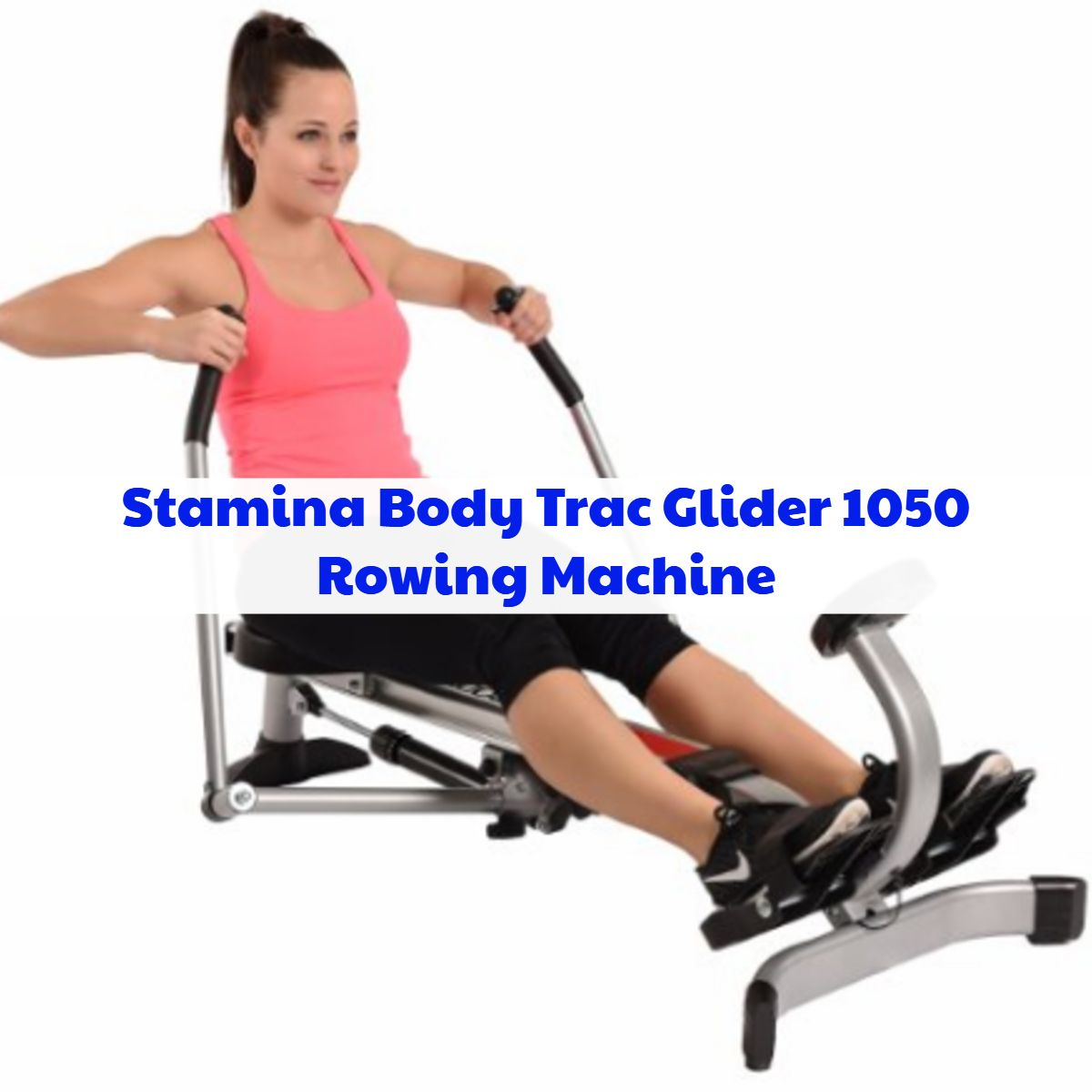 Stamina Rowing Machine Body Track Glider Home Gym Exercise Workout Equipment