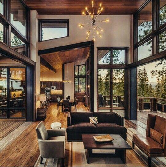 Rustic Ranch Interior Design: Luxury Mountain Cabin