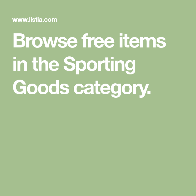 Browse Free Items In The Sporting Goods Category Fun Sports The Anarchist Cookbook Sports