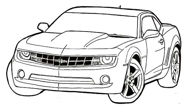 Chevrolet Car Coloring Pages Race Rhpinterest: Printable Coloring Pages Of A Car At Baymontmadison.com