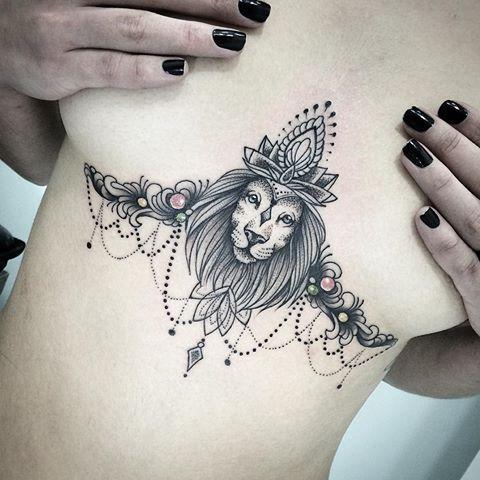 underboob tattoo 56