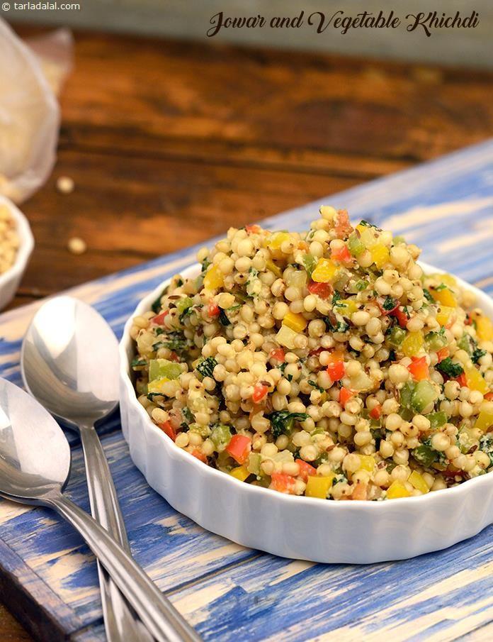 Jowar and Vegetable Khichdi Recipe Indian food recipes