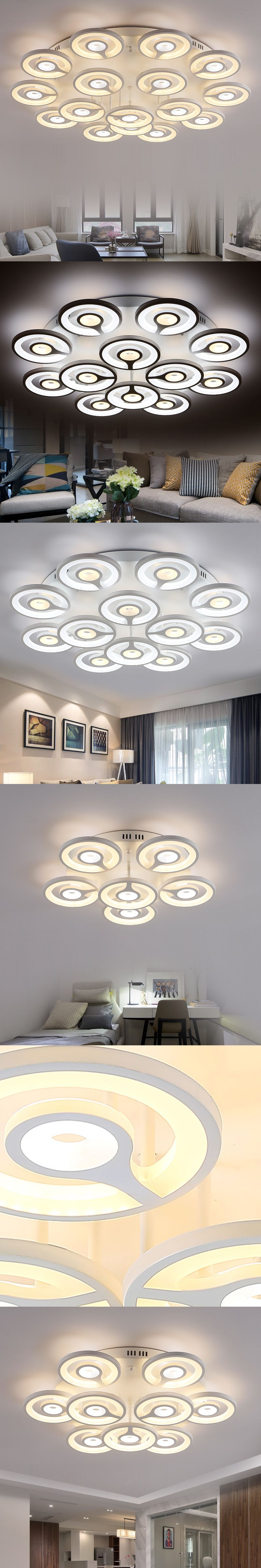 modern led dimmable ceiling lights for bedroom living room foyer