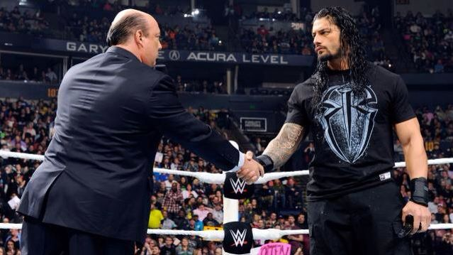 Image result for roman reigns paul heyman