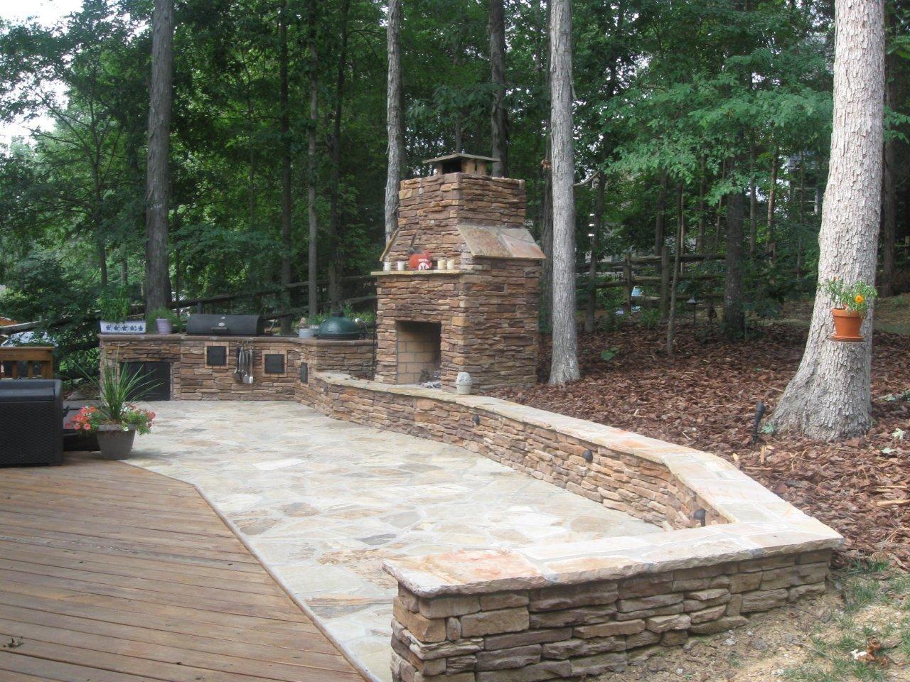 Nice The Best Stone Patio Ideas