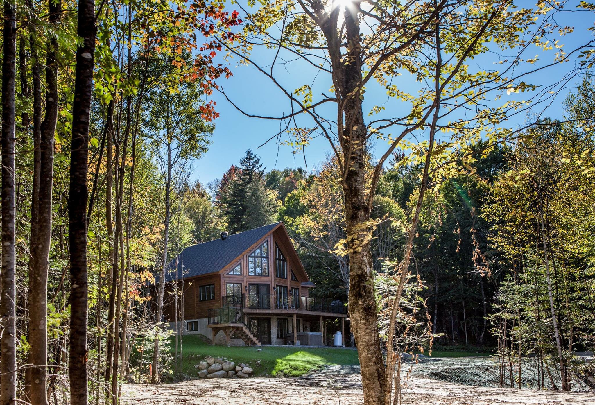 Choose your 3 or 4 bedroom cottage at Club Lac Walfred to enjoy the ultimate vacation! Our exclusive, private resort is located just 45 minutes north of Montreal in the Laurentians. Visit us at www.clublacwalfred.com.