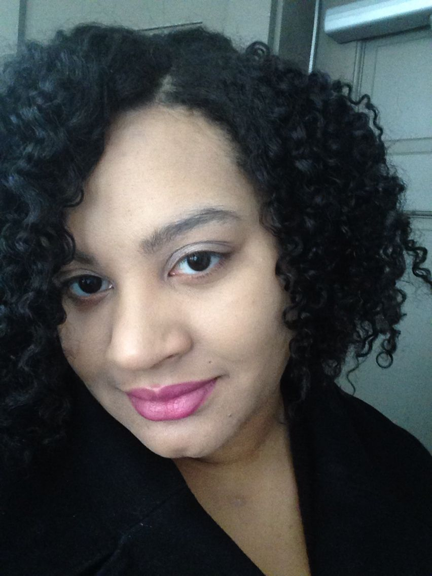 """My natural hair super defined and stretched using my own """"twist and row"""" method. #naturalhair ..."""
