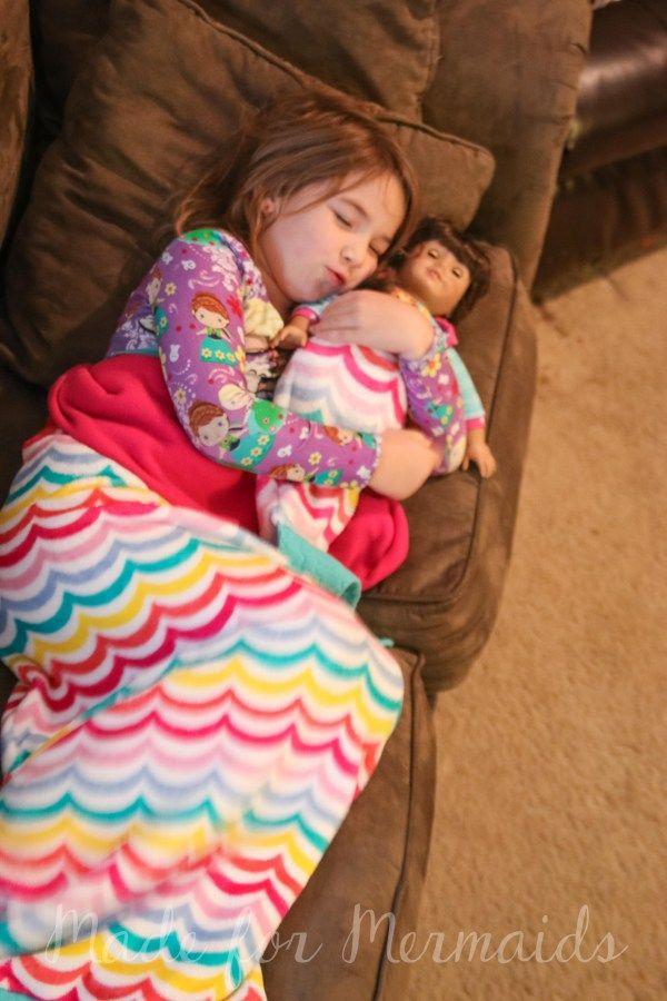 Queue de sirène couverture pour les enfants et dolly | Cadeaux ...