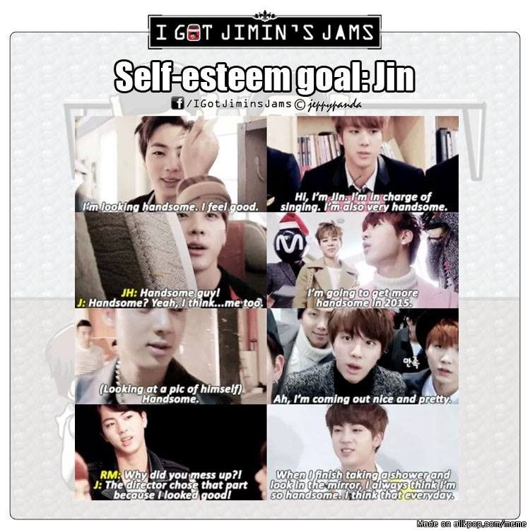 Jin's ever-flowing confidence XD