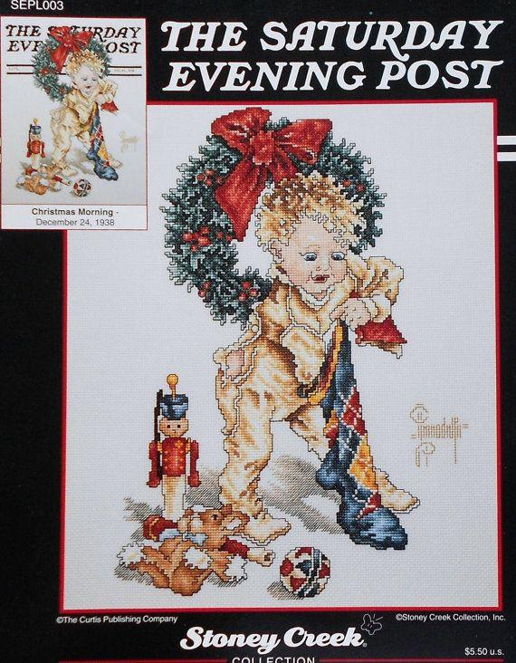 Norman Fabric Rockwell Santa