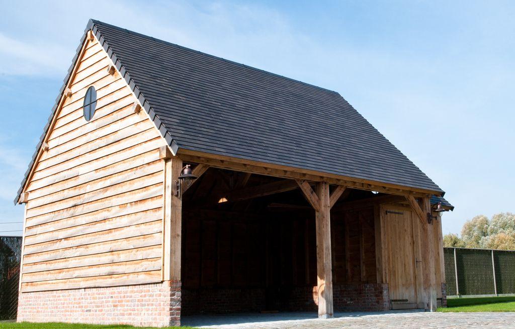 Eikenhouten gevelbekleding carpentier hardwood solutions huis