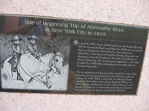 Abernathy Boys Marker by carletaorg, via Flickr