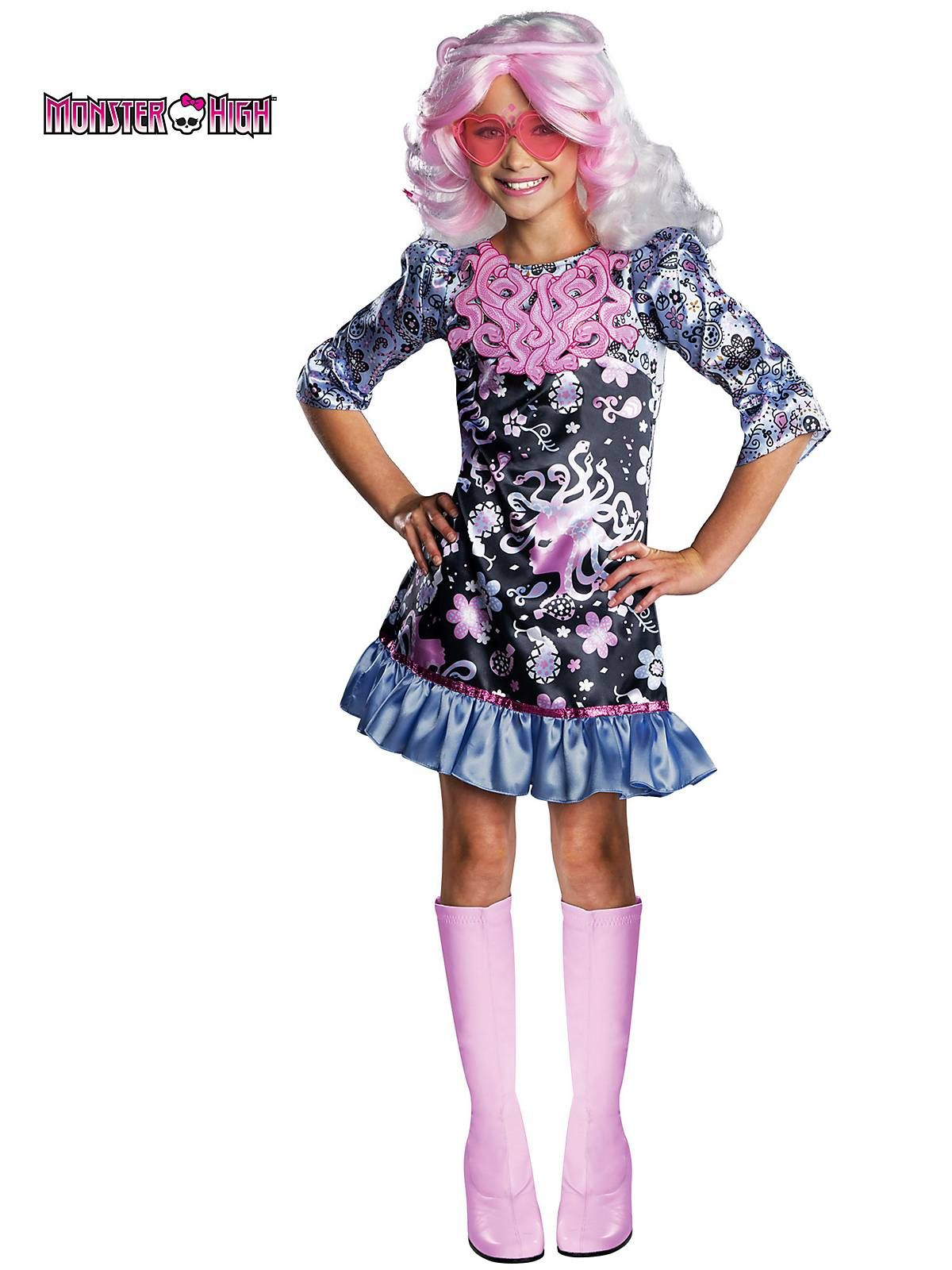monster high viperine girls costume | 6th birthday party ideas