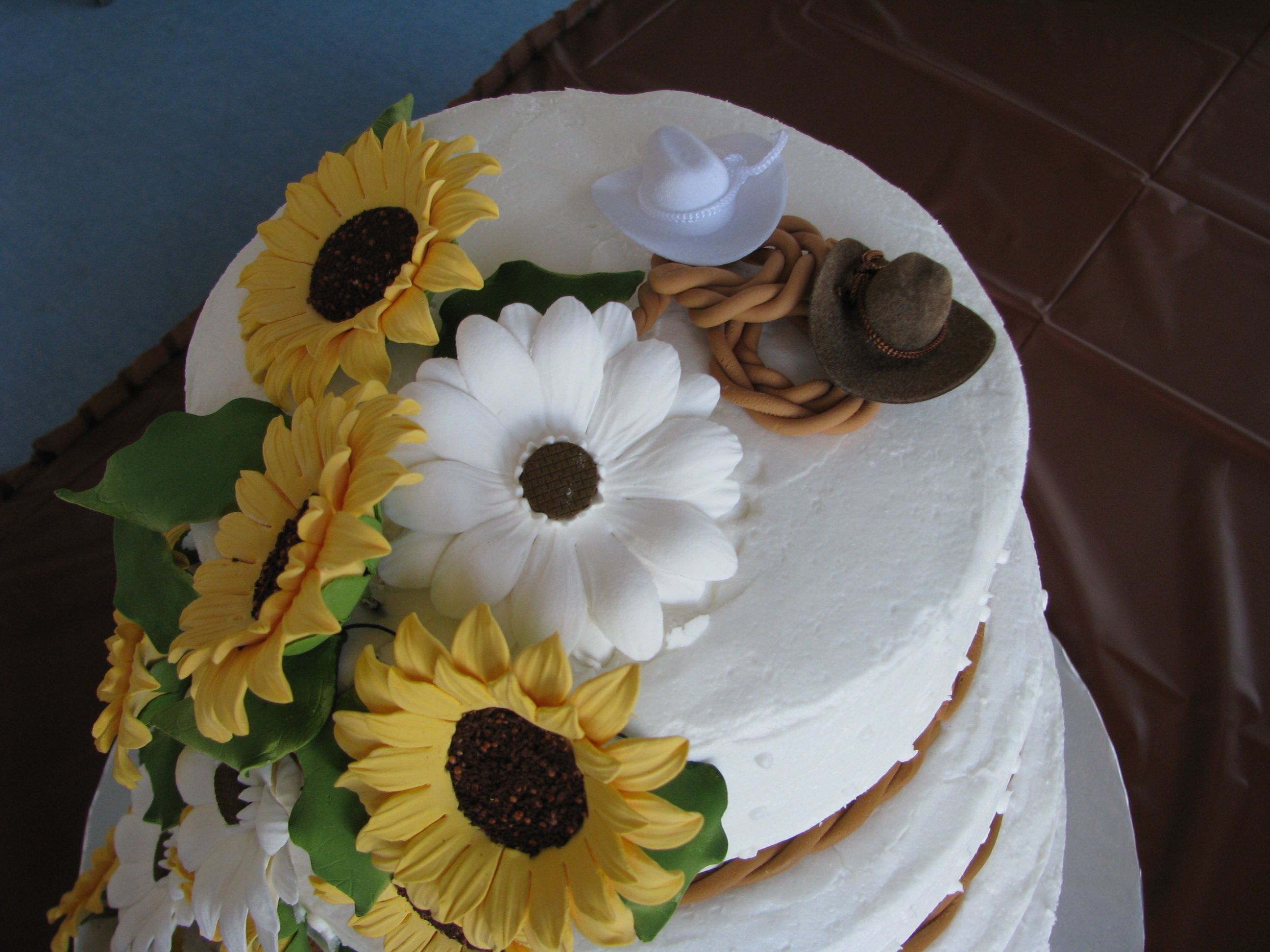 A true country wedding cake wedding cakes pinterest country