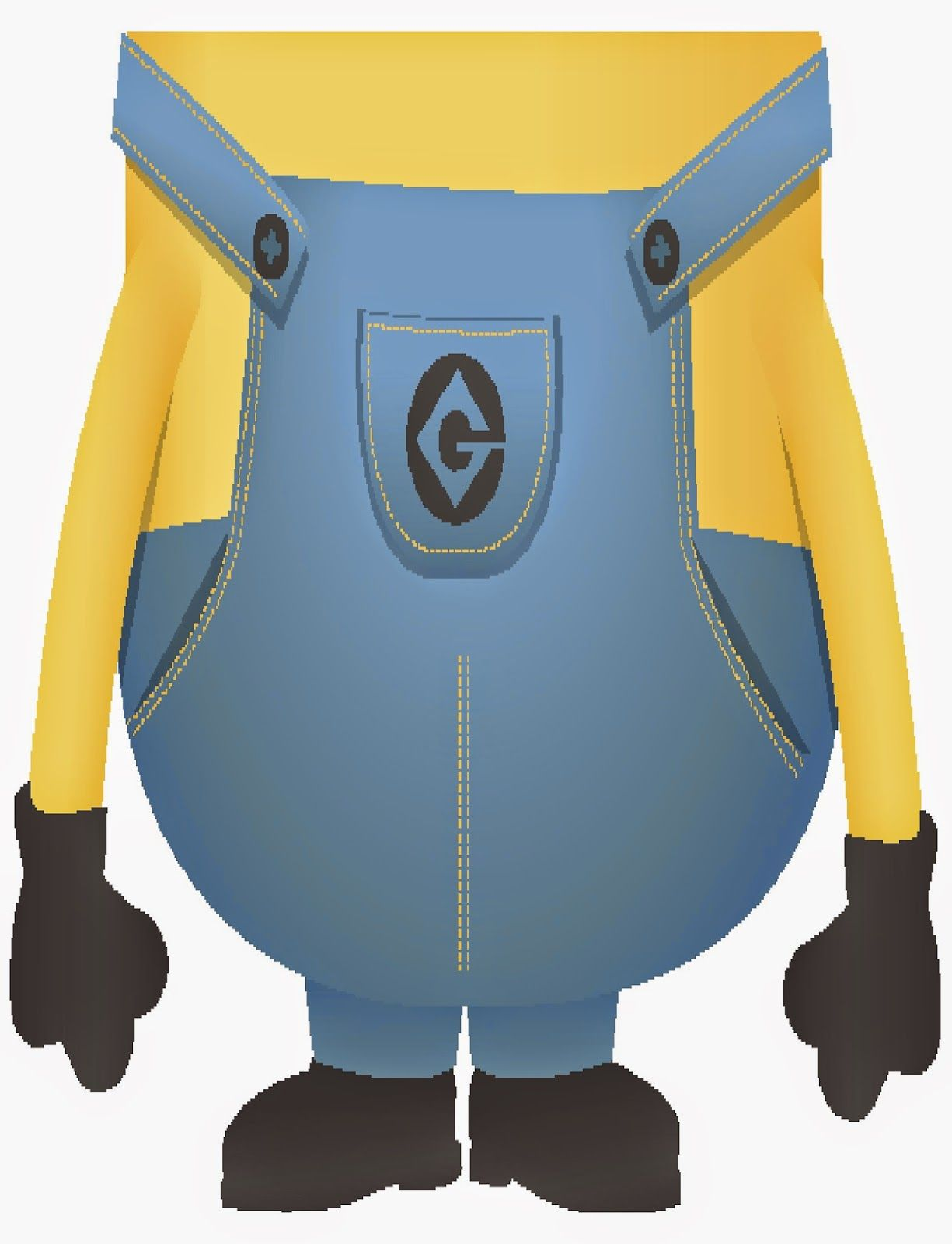 It is a picture of Influential Minion Eye Printable