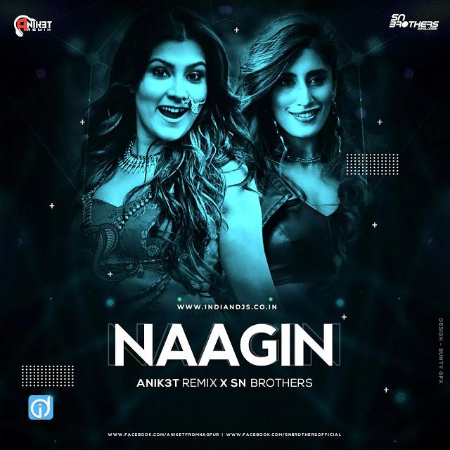 Naagin Gin Gin Remix Anik3t Remix X Sn Brothers In 2020 Remix Dj Songs Gin