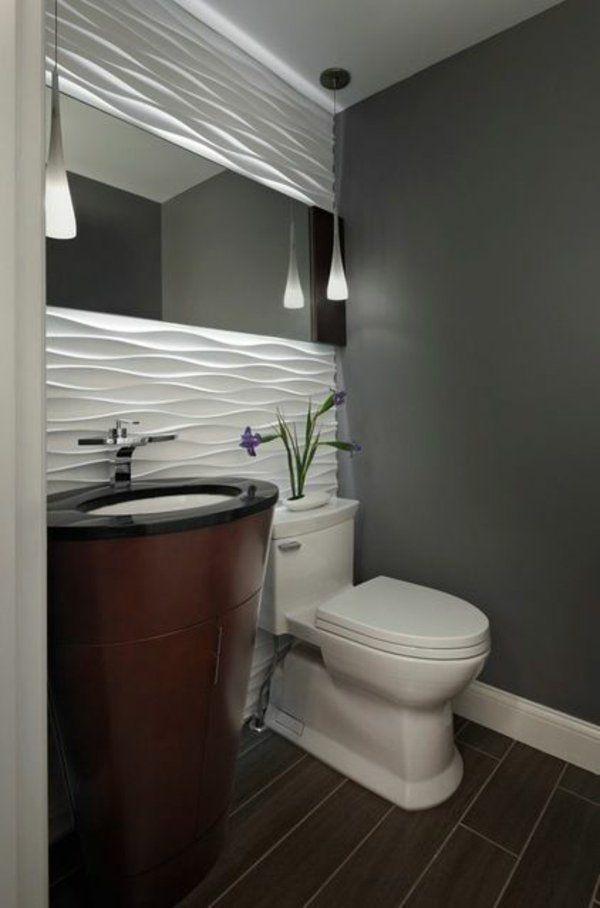 Tolle Wandgestaltung Mit Farbe 100 Wand Streichen Ideen Modernes Badezimmerdesign Badezimmer Innenausstattung Badezimmer Klein