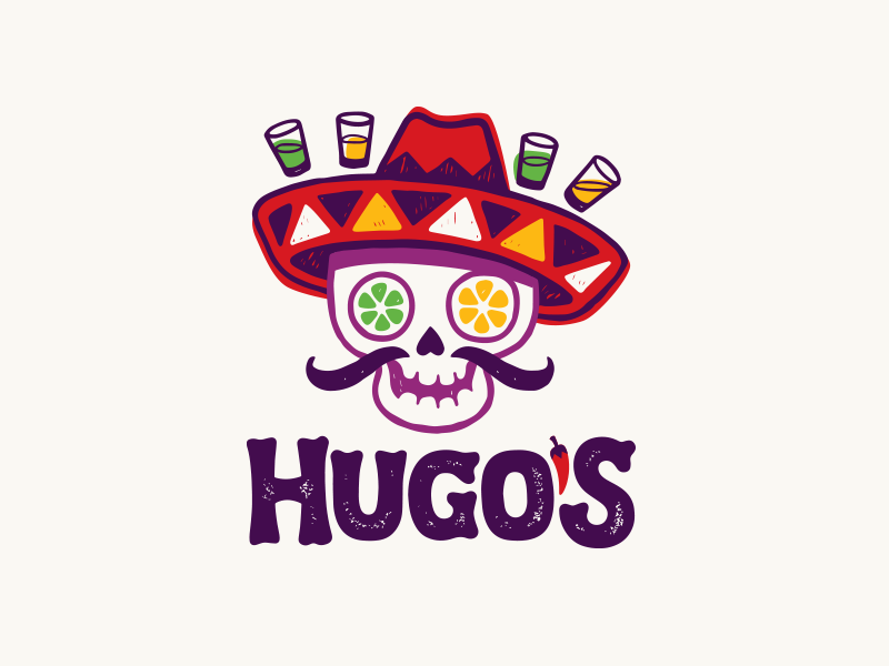 Hugo 39 s mexican restaurants mexicans and restaurants for Mexican logos pictures