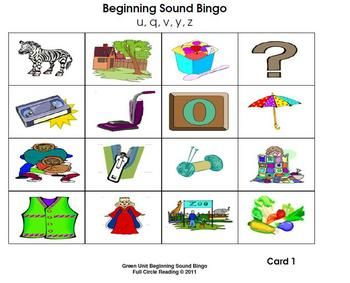 8 letter words ending in v beginning sounds and letters bingo cards 5 letter 26780 | 8fd880b9e67415d2fb846617c1536563