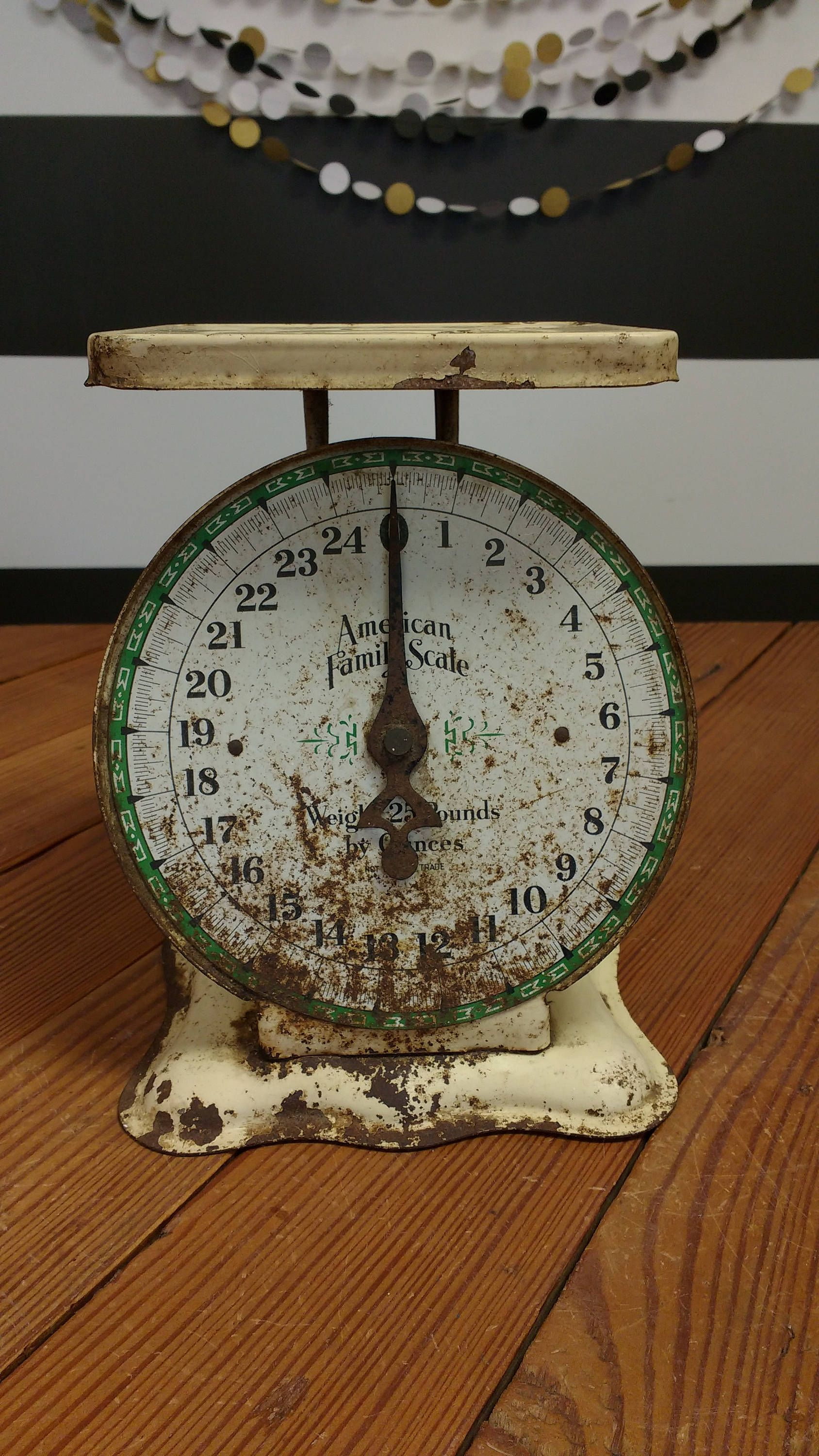 Antique Kitchen Scale; Kitchen Scale; Antique Scale; Kitchen Decor; Counter top Display; Farmhouse Style; Joanna Gaines; Fixer Upper Style by LynnMichelleDesign on Etsy