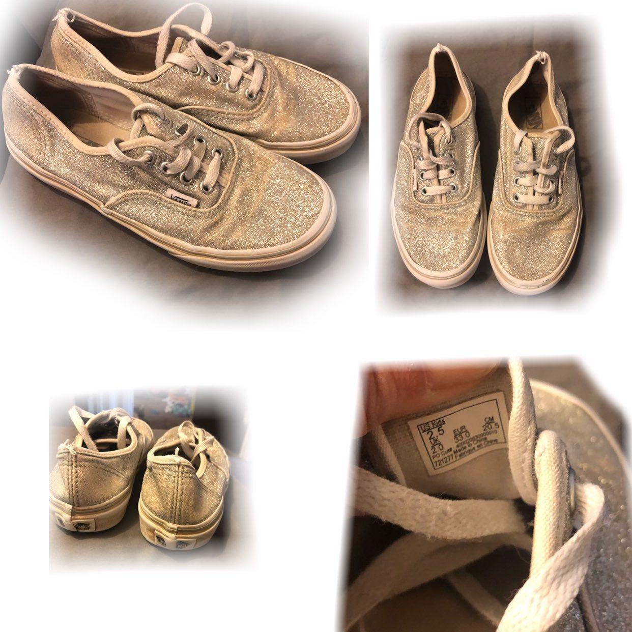 Size girls, Vans, Vans shoes