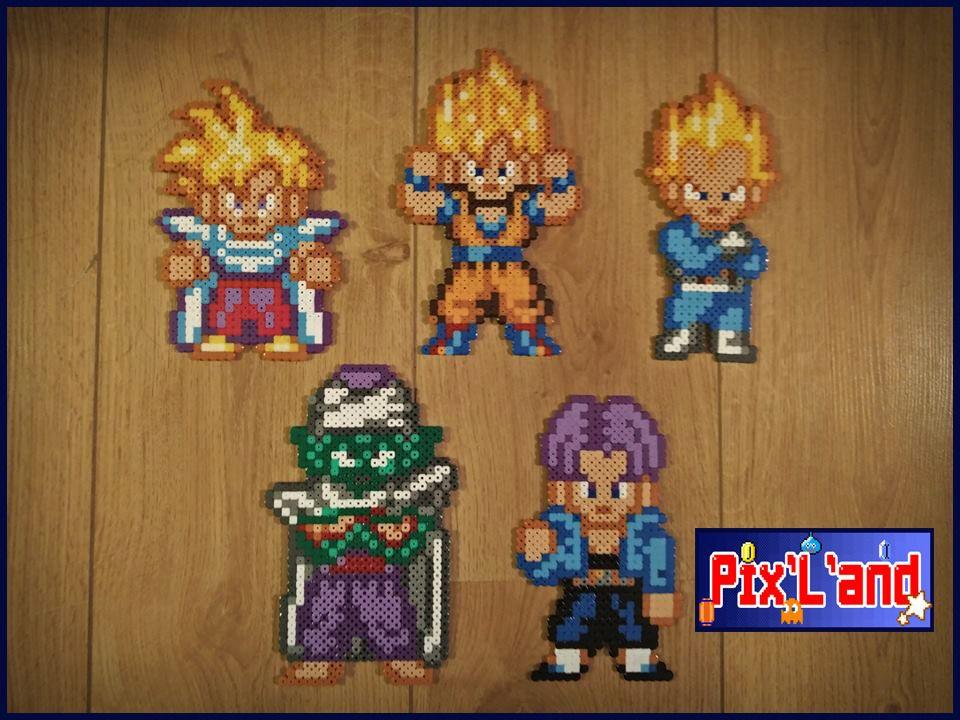 Son Goku Dragon Ball Hama Perler Beads By Lauro Espinosa Val