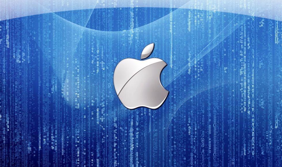블루 비 애플 로고