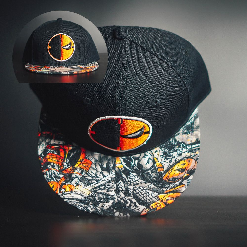 competitive price b8320 00eb2 Unique Snapback Baseball Cap Hat Deathstroke DC Comics – Search tags    Baseballhats  Buybaseballcaps