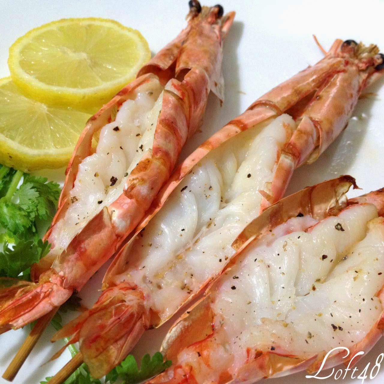 Singapore Home Cooks: Grilled Tiger Prawns By Cassandra