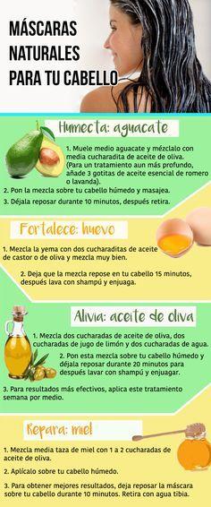 Mascarilla de aguacate con aceite de oliva para el cabello