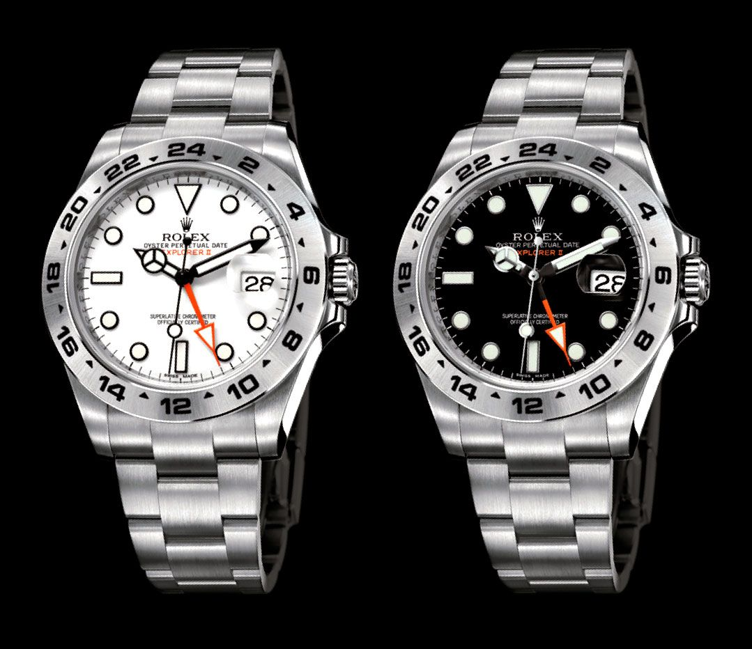 """The Latest Rolex Explorer II equipped with the 42mm watchcase""的图片搜索结果"